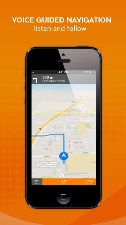 Panama City - Offline Car GPS screenshot-3