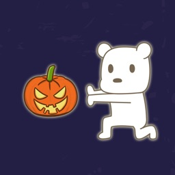 KongFu Bear (Halloween) - NHH Animated Stickers