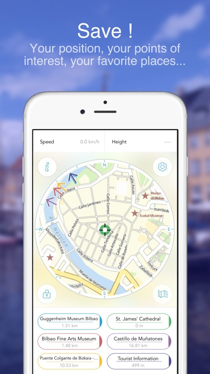 Bilbao on Foot : Offline Map