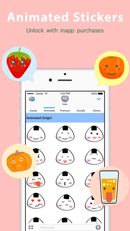 Kawaii Food Sticker screenshot-2