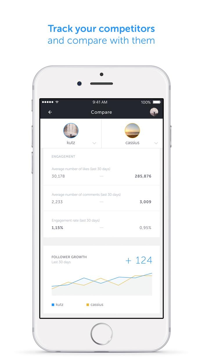 Iconosquare - analytics & scheduling for Instagram Screenshot