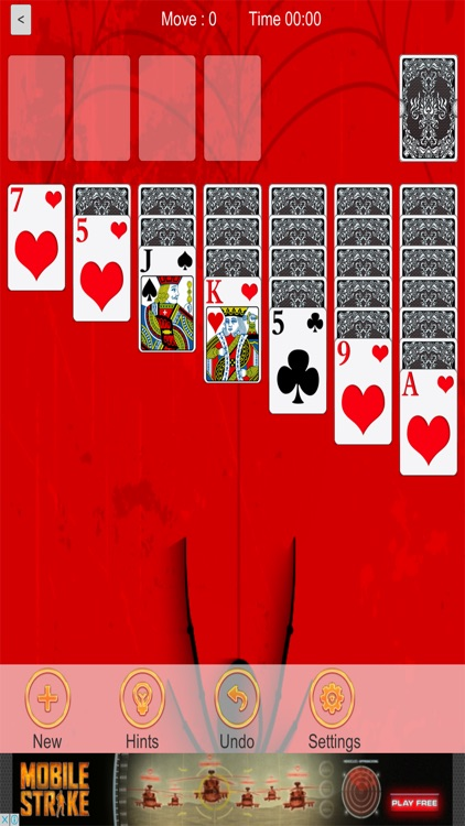Spider Red Solitaire screenshot-3