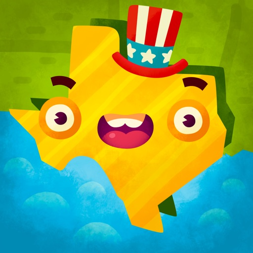 50 States (Ad Free) - Top Education Stack Games icon