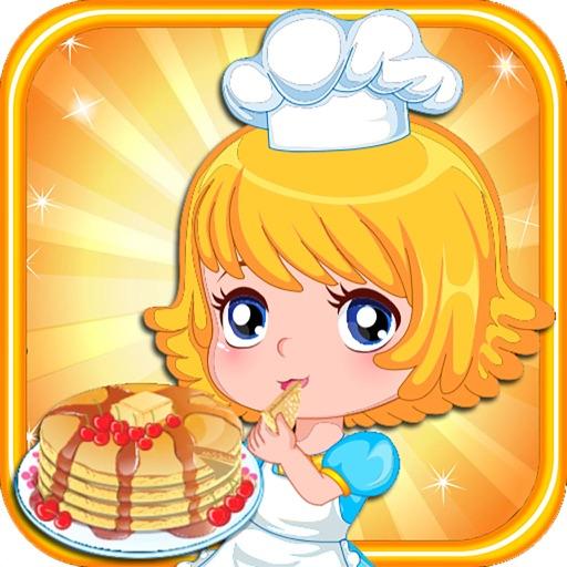 Dessert Pancakes Cake free Cooking games for girls