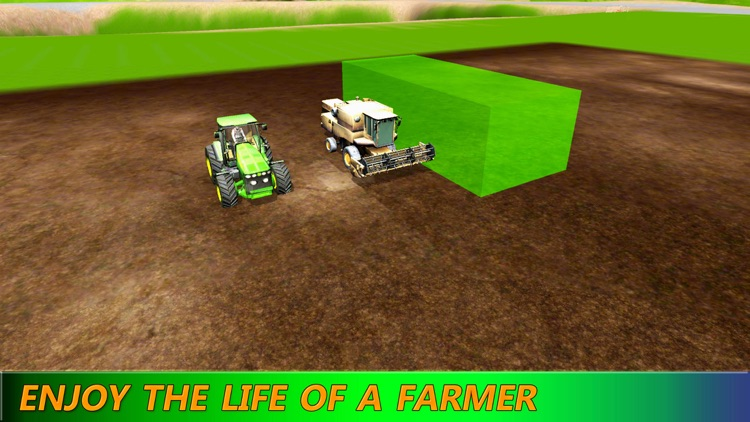 Tractor Simulator: Farming Machine HD screenshot-3