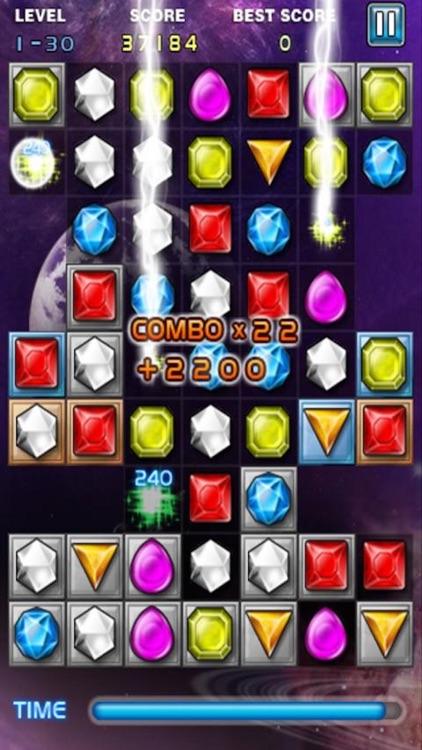 Jewel Deluxe Mania - Match 3 Splash Free Games screenshot-4