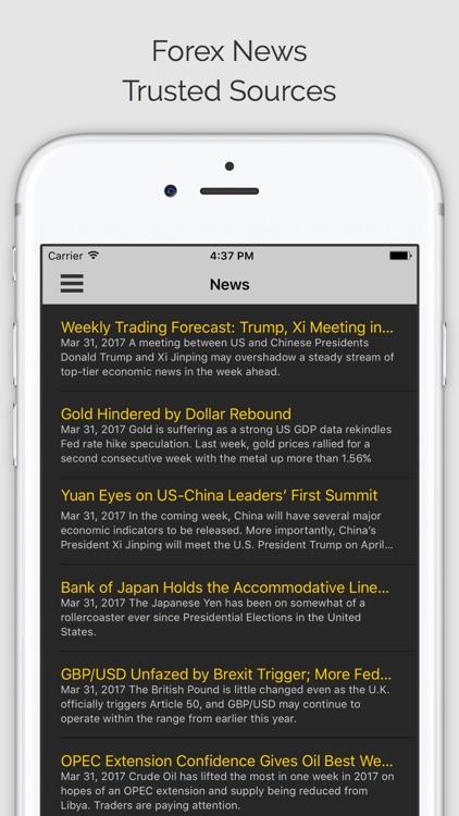 FOREX TRADER PRO: FX Trading Signals, Charts, News screenshot-3