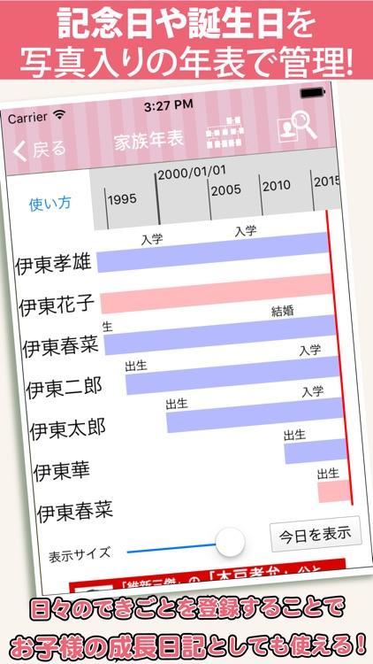 赤ちゃん家系図 - 家族・子どもの成長記録 screenshot-3