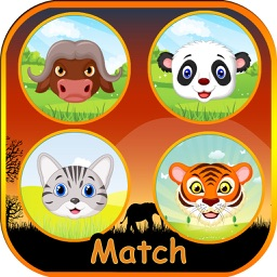 Kids Animals Matching Game