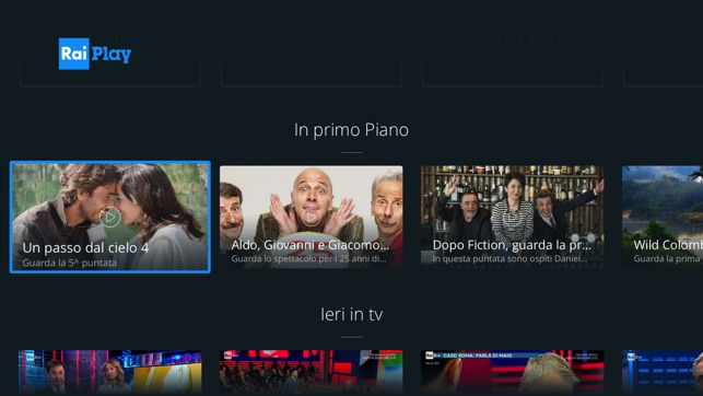 raiplay su apple tv