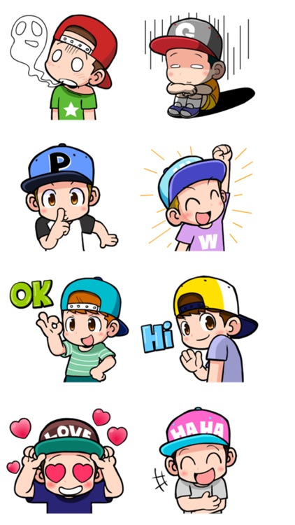 Cute Boys Stickers screenshot-3