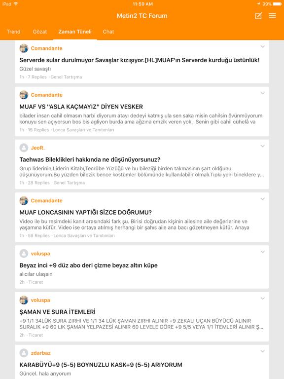Metin2 TC Forum screenshot 6