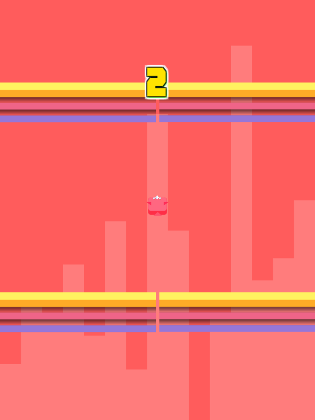 Bird Fly - tap screen through obstacle, game for IOS