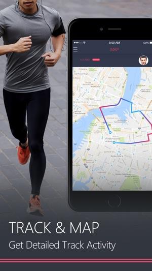 Running Distance Tracker GPS Run Walking Coach On The App Store - Running map distance tracker