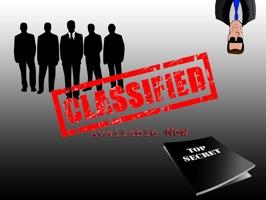Classified - Top Secret Sticker Pack