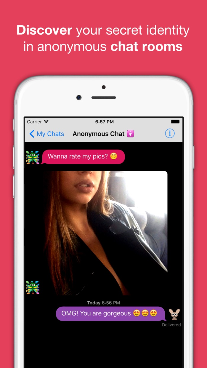 Anonymous Chat Rooms, Dating Screenshot