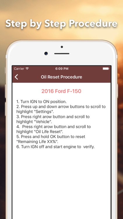 Reset Oil Service Pro screenshot-4