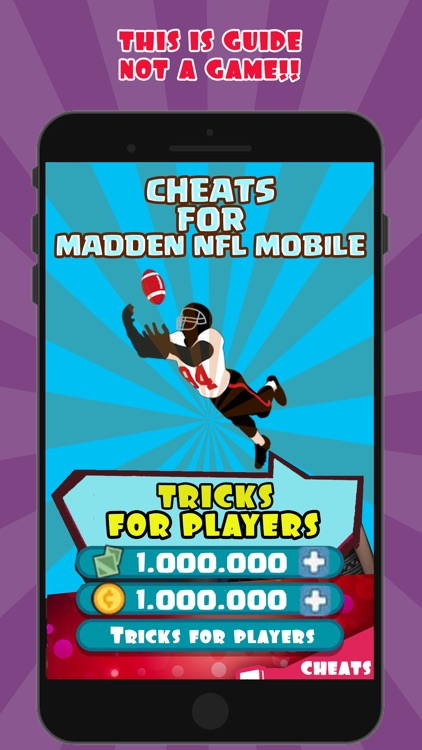 Cheats Guide For Madden NFL MOBILE Free cash coins