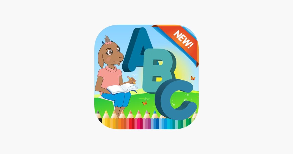 Tiere auf dem Bauernhof ABC Malbuch Kinder-Spiel im App Store