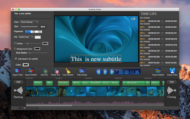 Subtitle Edit - Video Editor | App Price Drops