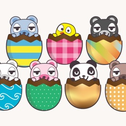 Beary Eggciting Easter Stickers