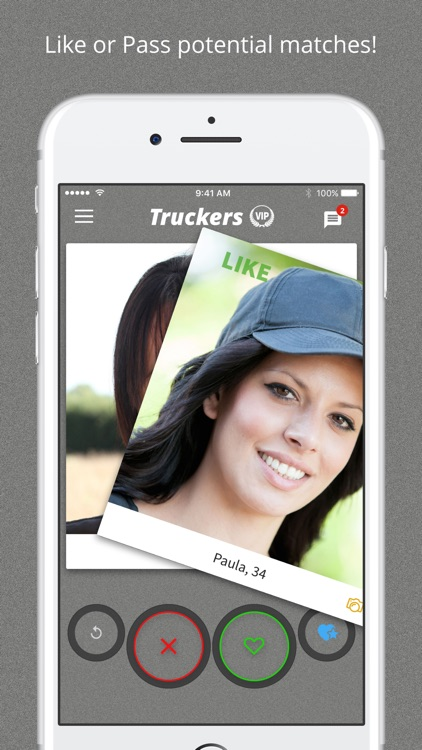Truckers Nearby - Trucker Dating App