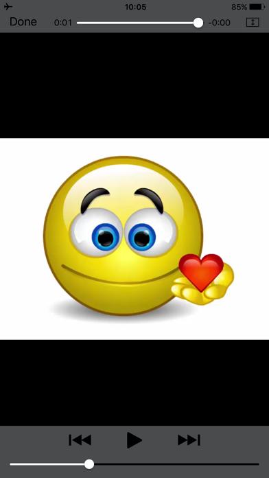 Talking Emoji & Speaking Emoticons Icons Pro Screenshot