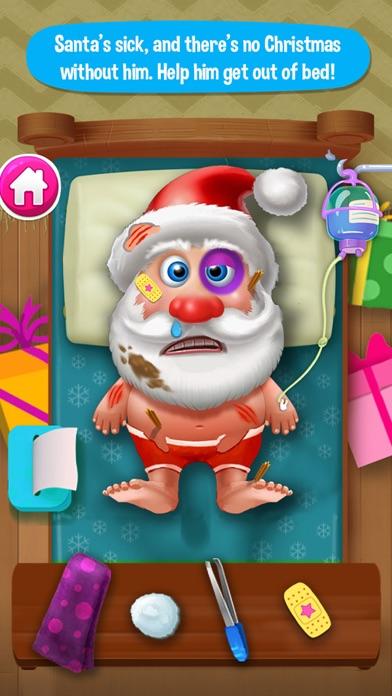 Little Santa Doctor! Snowman ER Christmas Hospital screenshot two
