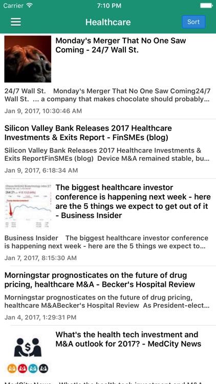 Mergers & Acquisitions News Pro - M&A Updates screenshot-3