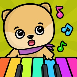 Baby piano and music games for kids and toddlers