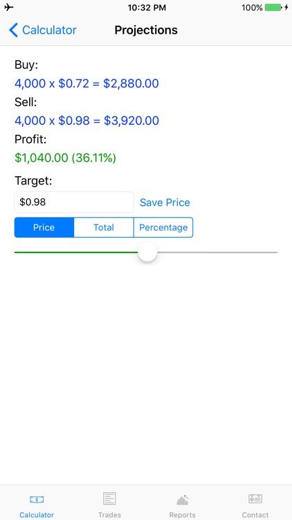 MyStocks - Manage your stocks and options screenshot-4