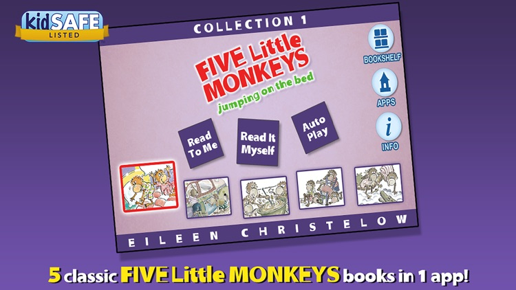 5 Little Monkeys Collection #1