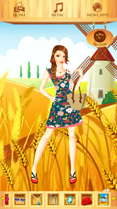 Summer Fashion Dress Up Games screenshot four
