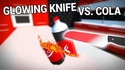 Glowing 1000 Degree Hot Knife vs Cola Screenshot