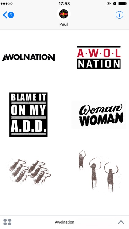 Awolnation: Sticker Pack