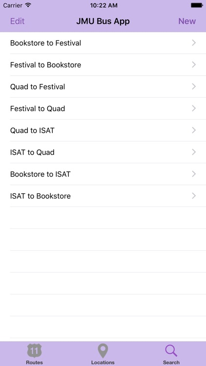 The JMU Bus App screenshot-3
