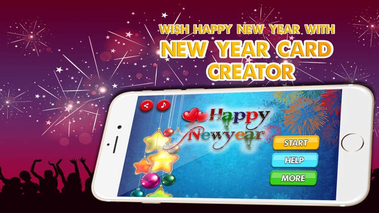 Happy new year card maker wish new year greetings by techno keet happy new year card maker wish new year greetings m4hsunfo