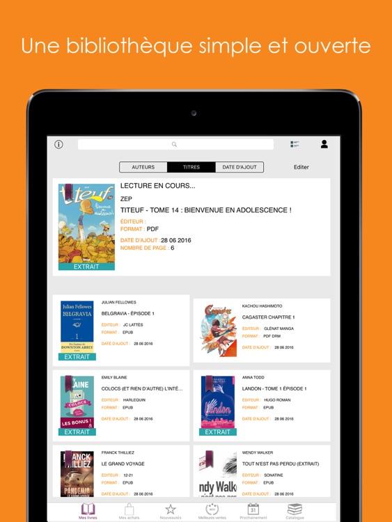Numilog Reader - Livres et BD screenshot-4