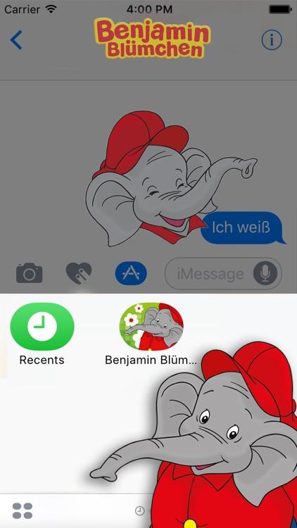 Benjamin Blümchen Sticker screenshot-3