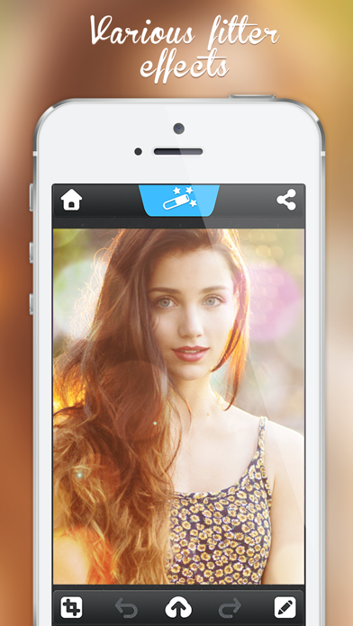 Photo Editor - Picture Filters Blur Effects Cam ScreenShot1