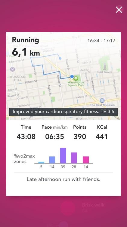 Fjuul - Healthy Activity Tracker & Workout Coach screenshot-3