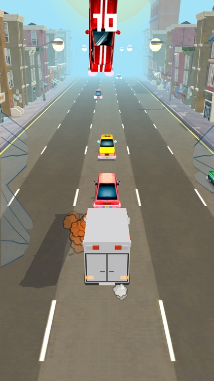 car racing extreme crash games for kids screenshot-3