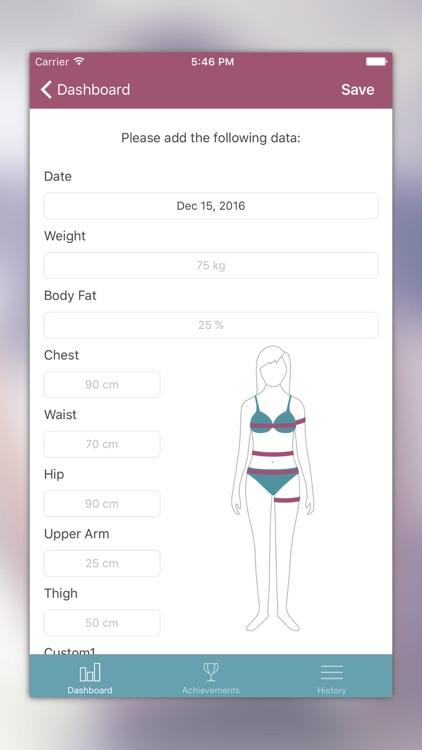 iBodyShape - Weight & Body Tracker