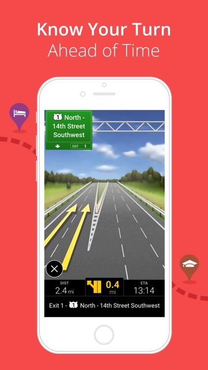 CoPilot HD USA – GPS Navigation & Offline Maps screenshot-3