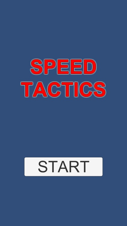 SPEED TACTICS