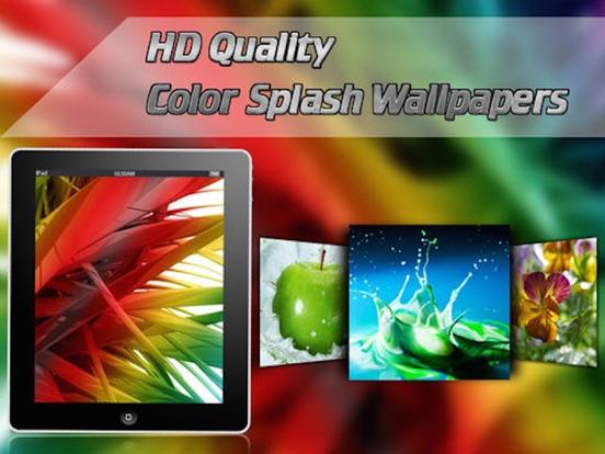 Screenshot #4 pour Color Splash Wallpapers √