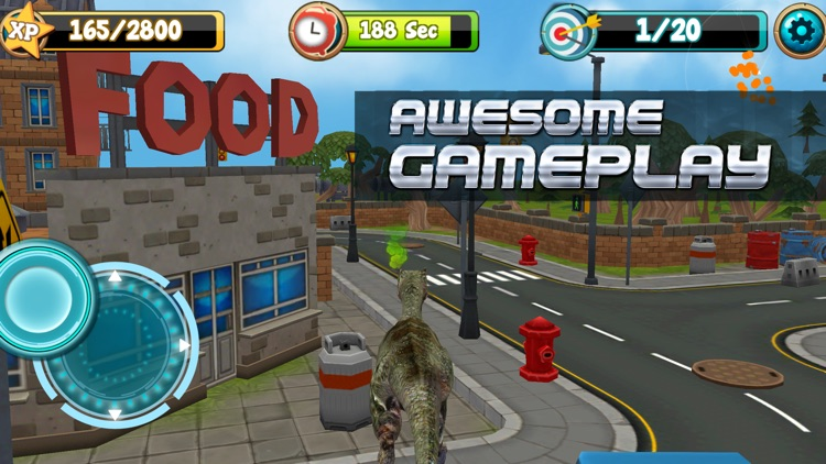 Dinosaur Simulator 3D: Free Jurassic Commando Game screenshot-2