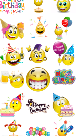 Birthday Emoticons On The App Store
