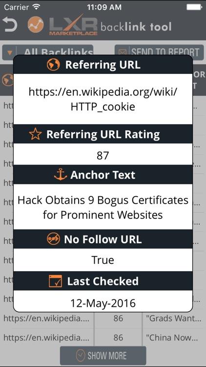 SEO BackLinks screenshot-3