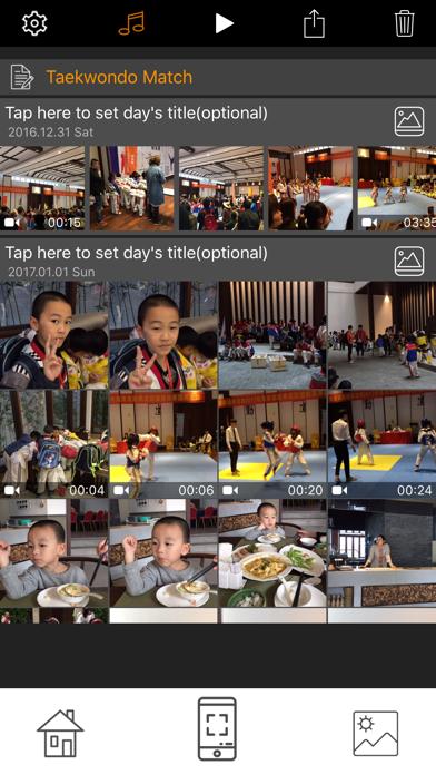 Screenshot #1 pour Trace Heap - My Video Diary